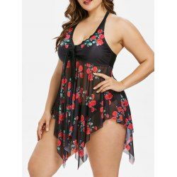 Buy wholesale plus size flower sheer tankini set 2x black for $16.33 from China tankinis wholesaler. Online plus size little black dress and plus size coats with best quality,cheap price and fast delivery on Rosewholesale.com.