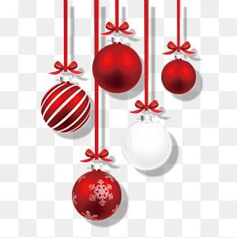 Red Christmas Ball Ornaments Decorative Pattern, Red Christmas Ball, Christmas Balls, Christmas Ball Decoration PNG Transparent Image and Clipart for Free Download