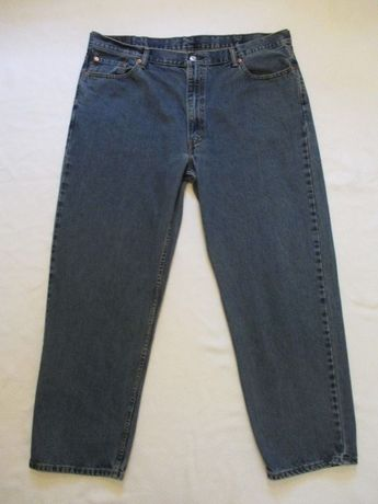 25844aef9 Mens Size 44x32 Levis 550 Relaxed Fit Tapered Leg Blue Jeans Measure 42x31   fashion