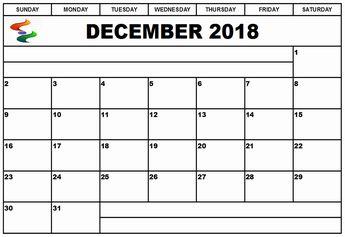 december 2018 calendar india print out