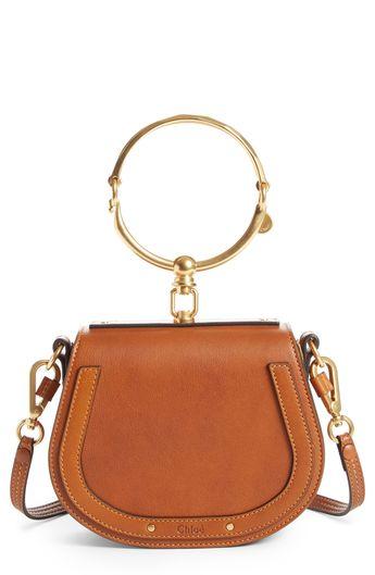 e7438b7e9b Chloé Small Nile Bracelet Leather Crossbody Bag - White