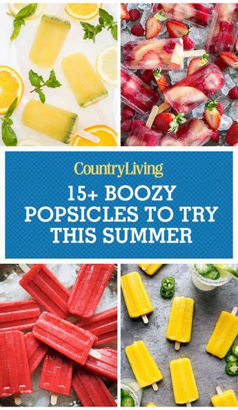 18 Boozy Popsicles to Enjoy This Summer
