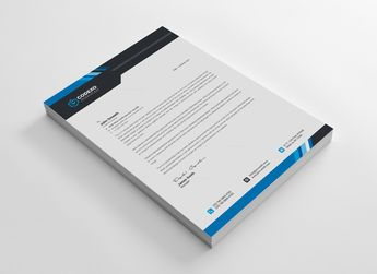 High Quality Letterhead Stationary Template - Graphic Templates
