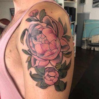Tatuaż Piwonie Znaczenie Historia 4
