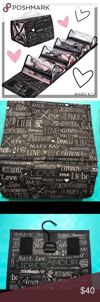 Mary Kay Travel Roll Up Makeup Bag