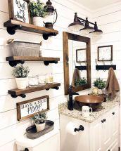 40 Best Farmhouse Bathroom Decor Ideas