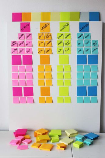 Brainstorming 101 With Colour!