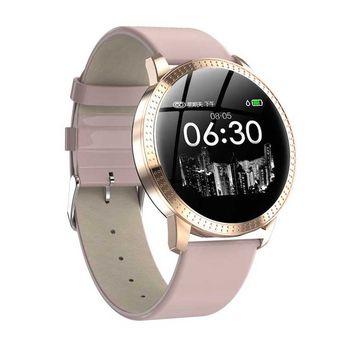 New Coming 2019 Smartwatch Woman Fashion Wristband Cf18 Smart Tracker Health Monitor Blood Pressure