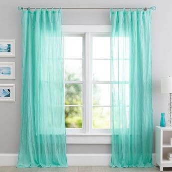 Twisted Sheer Curtain