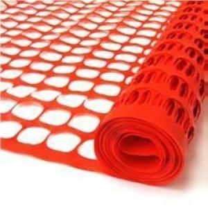 Tenax 4 ft. x 100 ft. Orange Guardian Safety Barrier Fence