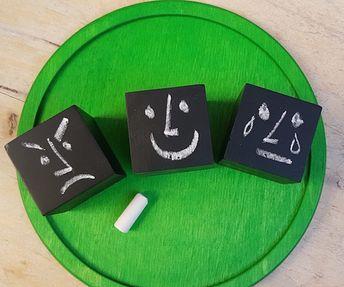 Cubes… à émotions ou à rigolette? – Si Tu Veux (Jouer)