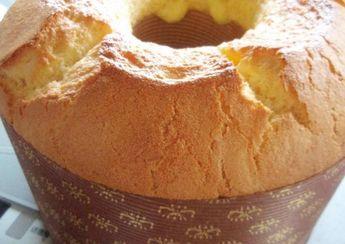Fresh Lemon Chiffon Cake