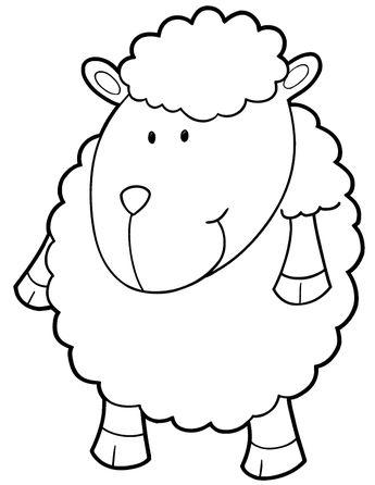 Koyun Keçi Boyama Sayfası
