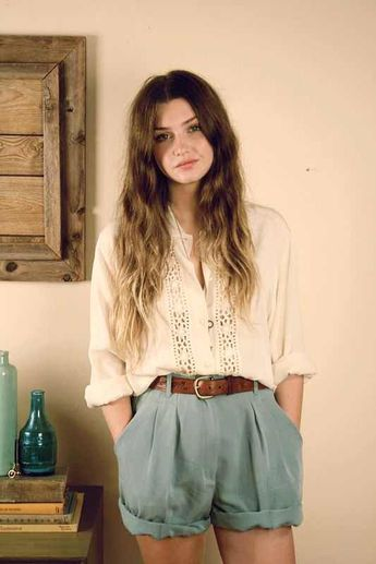 Cheveux long : Bohemian Spring/Summer