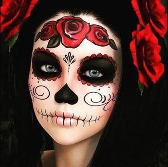 Makeup sencillo catrina 67+ ideas #makeup