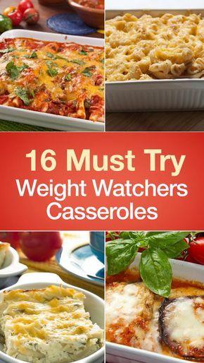 16 Must Try Weight Watchers Casseroles