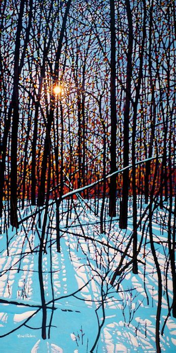 View and buy this Giclee on Canvas Limited Edition Print by Tim Packer