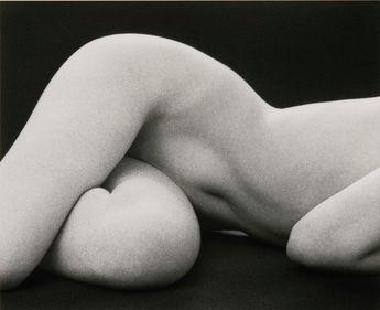 Hips Horizontal by Ruth Bernhard