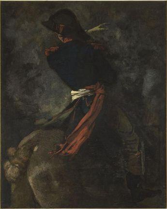 Thomas Couture, Cavalier au cheval cabré,