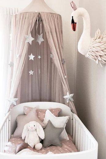 Inspiration from Instagram -Temika Trimboli @temikatrimboli - pastel girls room ideas, pink and grey girls room design, kidsroom decor, girls kidsroom, powder, nursery