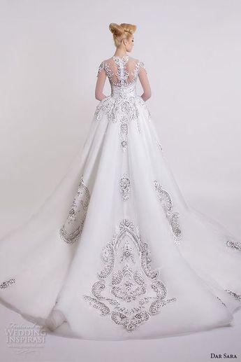 093982de624 75 Breathtaking Princess Wedding Dresses To Enjoy