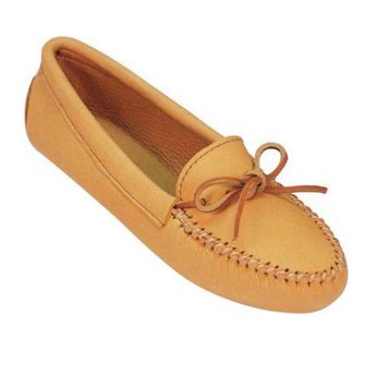 280957d4683 Leather Moccasins - Native Canadian Moccasins - Men