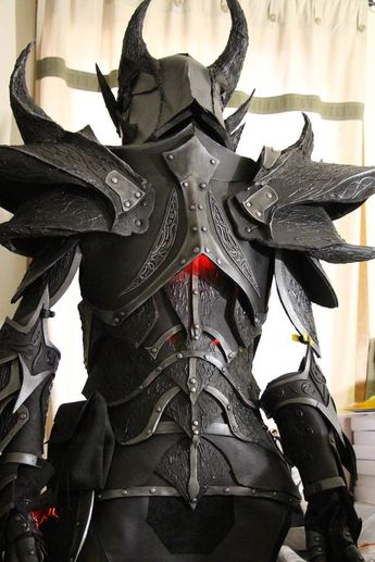 Skyrim Daedric armor by lsomething on DeviantArt
