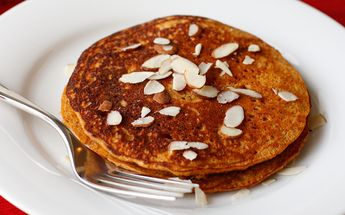 Maple-Cinnamon Sweet Potato Pancakes