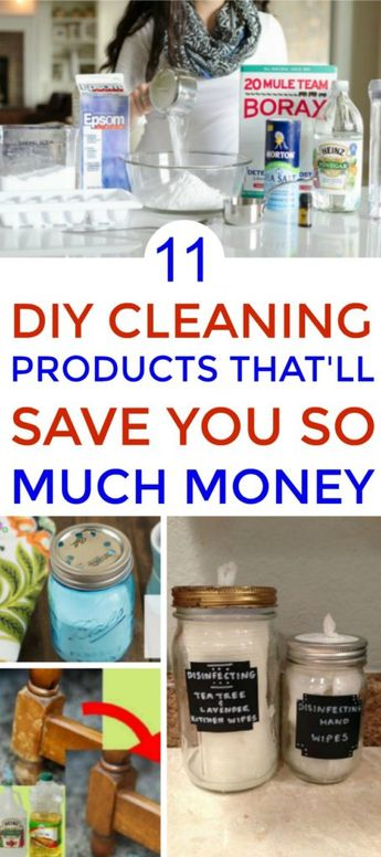 11 DIY Cleaning Products That Will Make Your Life So Much Easier