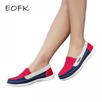 Comfortable Canvas Shoes for Women