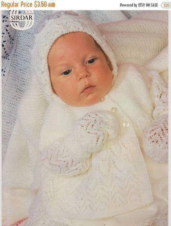 04a81d60e Crochet Pattern Book Baby Sweater Set Train by TillieLuvsT