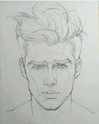 man's face drawing - cool drawing mans face shape. visit my youtube channel to learn more drawing and coloring