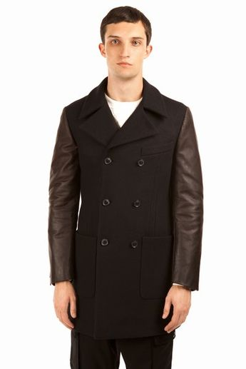 16f4e016 Band of Outsiders Double-Breasted Wool-Blend Corduroy Coat