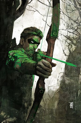 DC Icons Green Arrow #45 Foil Cover