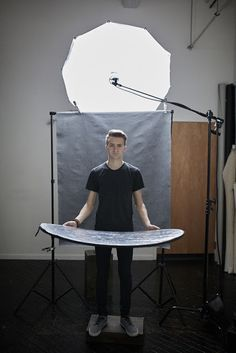 How many quick lighting set ups are possible with a single light in one hour? by Jacob Roberts