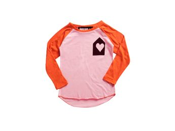 Mini & Maximus Heart House Rugby T-shirt