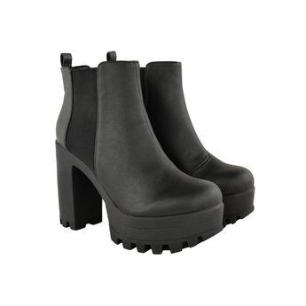 Chunky Cleated Heel Boot
