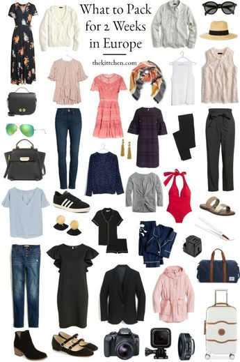 A Complete Europe Packing List - What You Need for 2 Weeks in Europe