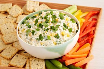 Liven up the next party with our fantastic Cold Corn Dip recipe. Cold Corn Dip is amazing whether served with your favorite crackers or crisp vegetables.