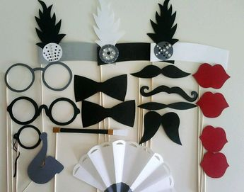 Photobooth Props Great Gatsby Props Roaring Twenties Pho