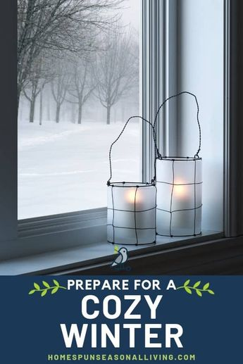 How to Prepare for a Cozy Winter