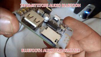 COME TRASMETTERE L'AUDIO VIA BLUETOOTH   trasmettitore audio bluetooth  ...
