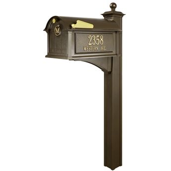 Adjustable Mailbox Post CP000W00 Gibraltar Mailboxes