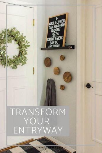 Easily Transform the Entryway