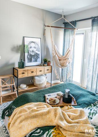 Accente geometrice în decorul unui apartament din Polonia
