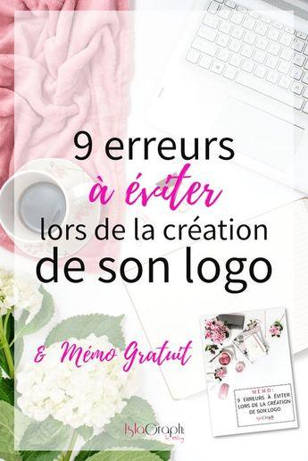 9 erreurs à éviter lors de la création de son logo