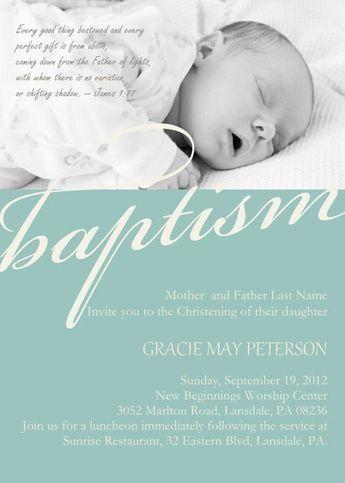 baby dedication invitation baptism photo invitation ch