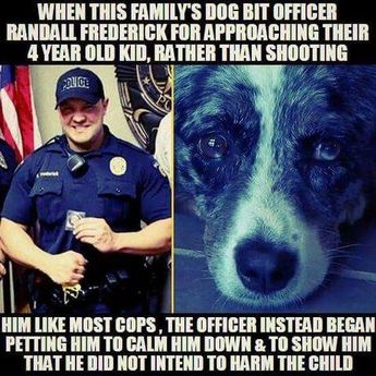 This. 100% this. This is how a well trained and intelligent officer acts.