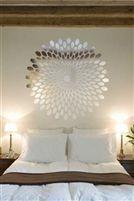 Optical Spiral Wall Decal | Reflective Mirror Decals