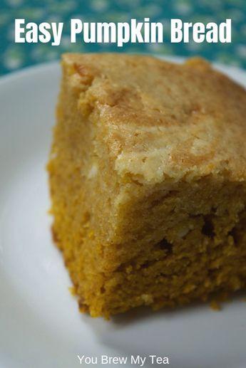 Easy Pumpkin Cream Cheese Bread